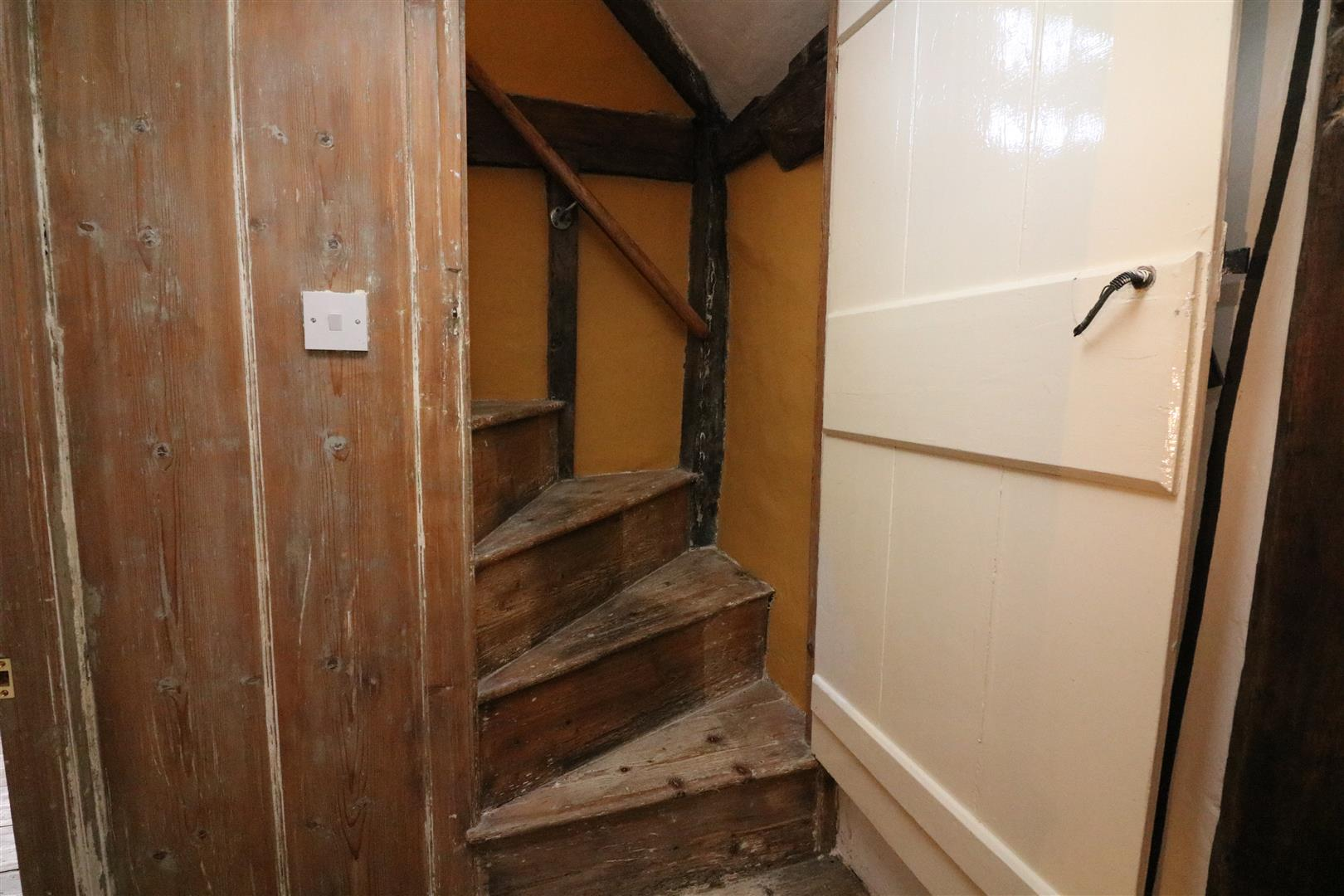 Stairwell to Attic